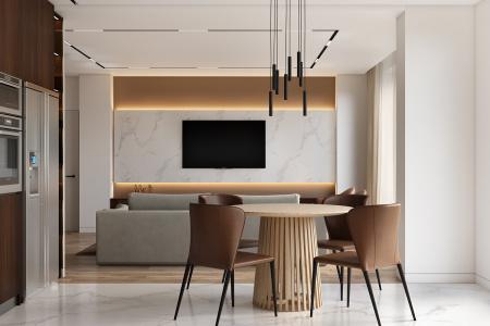 Дизайн 2-комнатной квартиры г.Винница